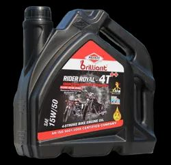 Upto 250 Cc To 500 Cc Bikes Mineral Based Rider Royal 4T Plus Engine Oil, 6 pc X 2.5 Lt Can, Pack Size: 2.5 Ltr