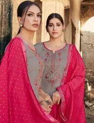 Kessi Lashkara Vol 2 Jam Silk With Embroidery Work Dress Material Catalog