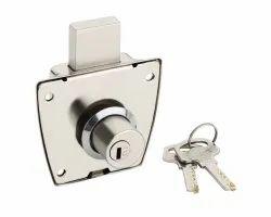 Libon Cupboard Lock, Chrome, Size/Dimension: 23 Mm