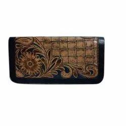 Pattern Ladies Fancy Leather Wallet