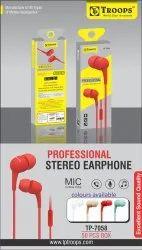 TP Troops Professional Stereo Earphone 7058 (Box-50)  Earphone