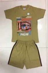 Own Boys Barmuda ET Kids T-Shirt And Half Pant Set