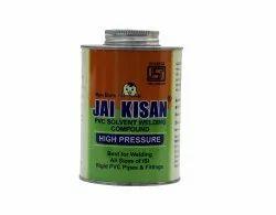 500 Ml Jai Kisan High Pressure PVC Solvent Welding Compound