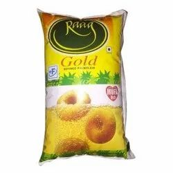 Vegetarian Raag Refined Palm Oil - Gold, 1L Pouch, Packaging Type: Pouched, Packaging Size: 1 litre