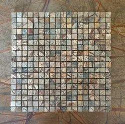 Gloss Bathroom Interior Natural Stone Tile