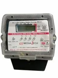 60 A Energy Meters, For Industrial