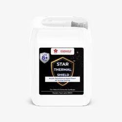 Star Thermal Shield (Silver) 650 Deg, C