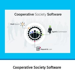 Online/Cloud-based Multi-user Cooperative Society Software, For Windows, Free Download Available
