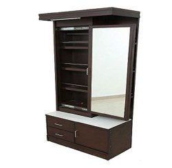 SF Rectangular Wooden Dressing Table, For Home