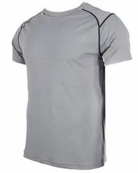 Madhavi Enterprises Plain Men Sports T Shirt, Size: S-XL
