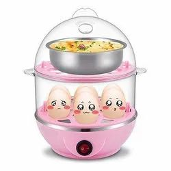 Multi-Function Electric 2 Layer Egg Boiler Cooker & Steamer, Egg Boiler Electric Automatic Off