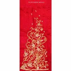 Red Embroidered Lehenga Kali