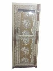 Hinged Polished PVC Fiber Door, For Home, Interior