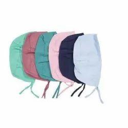 Cotton Reusable OT Cap, Size: Free Size