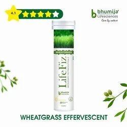 Wheatgrass Effervescent Tablet