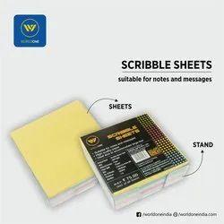 Scribble Sheet Memo Pads