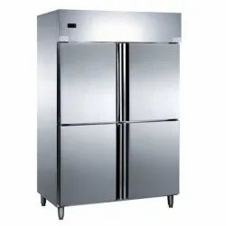 4 Star Stainless Steel Four Door Refrigerator, for Commercial, 950 L