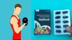 MULTIFRESH Multivitamin Capsules, 1*10 Tablets, Non prescription