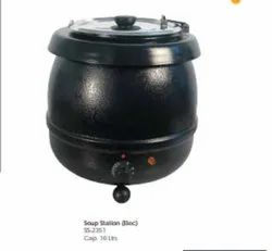 Black Clay SS 2351 Electric Soup Station, For Hotel