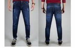 Casual Wear Men Blue Denim Jeans