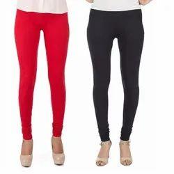 Gfashons Churidar Lycra Ladies Legging, Size: Free Size