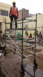 Scaffolding With HD Self Locking Wheels On Rent