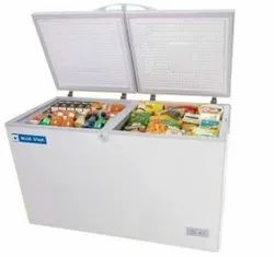 White CHFSD100FHPW Blue Star Chest Freezer, Top Open Door, Capacity: 100 L