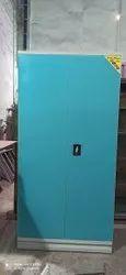 BOSEMAKERS blue 2 Door Steel Almirah, For Home