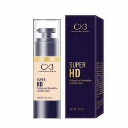 Cvb C53 Super Hd Professional Foundation Invisible Cover (shades 02, 30ml)