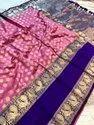 Present Kanjipuram Silk Saree With Classic Good Looking Designing Saree