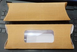 Cardboard Kathi Roll Box