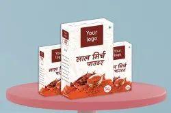 长方形多色(CMYK)快速消费品纸包装盒''''印度制造'''',承重能力(kg): < 2kg