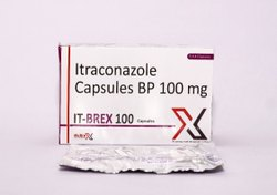Itraconazole Capsules Bp 100 Mg