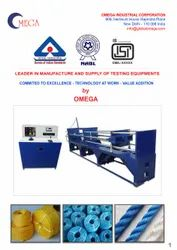 Tensile Testing Machine for PP Ropes / Polyamide Strand Ropes / Nylon Ropes / Polyester Webbings