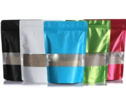 Multi Color Window Self Supporting Bag