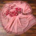 Present Beautiful Bollywood Style Designer Organza Silk Saree Vv