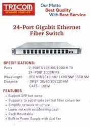 Ethernet fiber switch