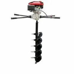 4 Stroke Heavy Duty 196 CC Petrol Earth Auger