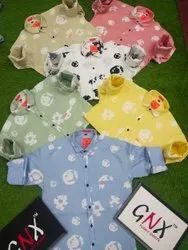 GNX Printed Men Party Wear Cotton Shirt, Machine and Hand Wash