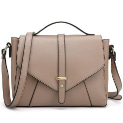 Light Brown Leather Ladies Designer Handbag, For Daily Use