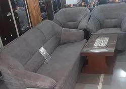 Modern Gray Living Room Sofa Set 3 Plus 2, For Home, Hall