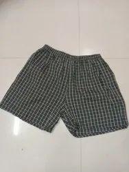 non brand Thigh Length Men Printed Cotton Boxers Shorts, 2