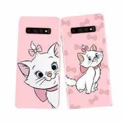 Plastic Samsung Kitty Sublimation Mobile Cover