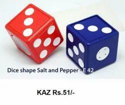 Dice Shape Salt & Pepper