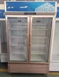 Two Door Visi Cooler Vertical Refrigerator