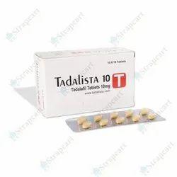 Tadalista 10mg Tablets