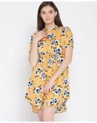 Mixed fabric Mix color Online brand dresses, Size: S-xxl