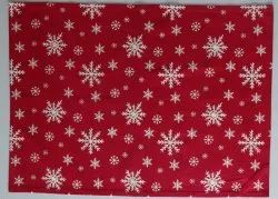 Red Christmas Printed Kitchen Towel