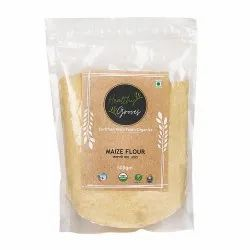 Organic Maize Flour, Packaging Type: Packet, Packaging Size: 500gm