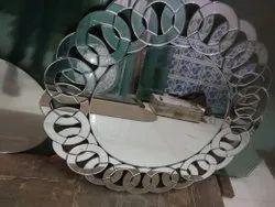 2 MM Designer Mirror Glass, Size: 12x12 Inch